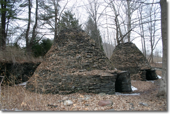 Charcoal Kilns, Dutchess County, New York